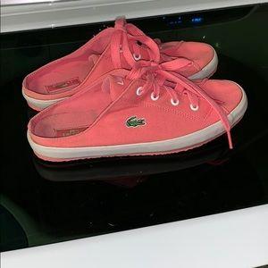 Lacoste size 7.5 glow sneakers